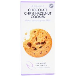 Against The Grain Organic Choc Chip & Hazelnut Cookie 150g test