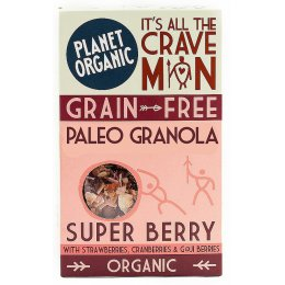 Planet Organic Paleo Super Berry Granola 350g