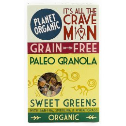 Planet Organic Paleo Sweet Greens Granola 350g