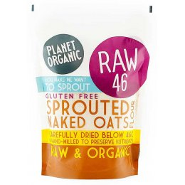 Planet Organic Sprouted Naked Oats Flour 400g