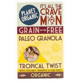 Planet Organic Paleonola Tropical Twist Granola 350g