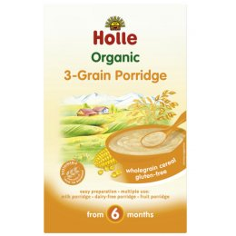Holle Organic 3-Grain Porridge - 250g