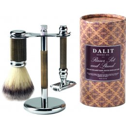 Dalit Luxury Mens Shaving set - Bronze