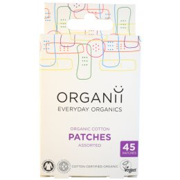 Organii Organic Cotton Patches - 45 - Mixed sizes