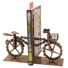 Fair Trade Bicycle Bookends