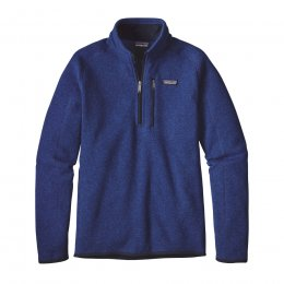 Patagonia Mens Better Sweater 1/4 Zip Jacket - Harvest Moon Blue