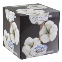 Cotton Soft Facial Tissues - 56 Sheets