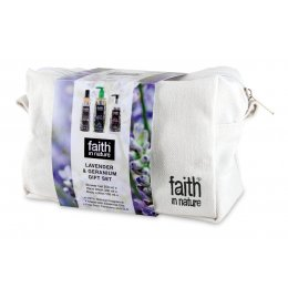 Faith in Nature Lavender & Geranium Gift Set