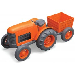 Green Toys Recycled Orange Tractor