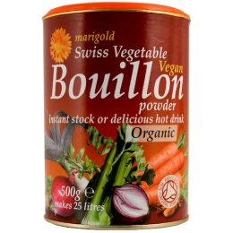 Marigold Organic Vegetable Bouillon Powder 500g