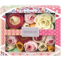 Vintage & Co. Fabric & Flowers Soap Flowers - 70g