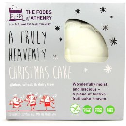 Foods Of Athenry Christmas Cake - Gluten Free - 600g