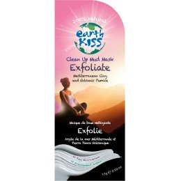 Earth Kiss Clean Up Exfoliate Mud Mask - 17g