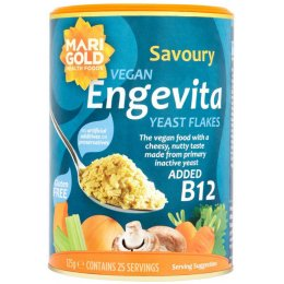 Engevita Yeast Flakes With Vitamin B12 - 125g