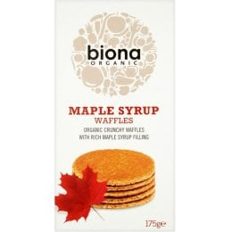 Biona Maple Syrup Waffles - 175g