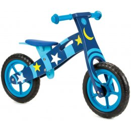 Nicko Toys Wooden Balance Bike - Space Star