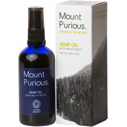 Mount Purious Hemp Oil Body Moisturiser - 100ml