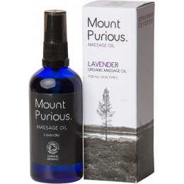Mount Purious Lavender Massage Oil - 100ml