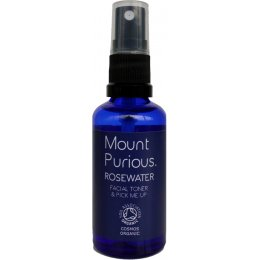Mount Purious Rosewater Facial Toner Travel Size - 50ml