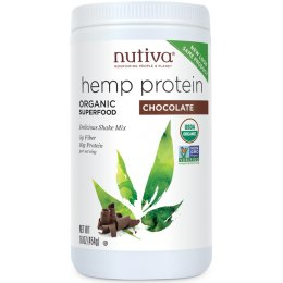 Nutiva Organic Hemp Shake Drink - Chocolate - 454g