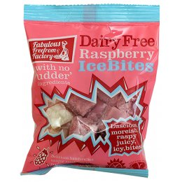 Fabulous Free From Factory Raspberry Ice Bites - 75g