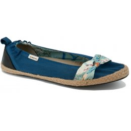 Komodo Bow Tie Ballet Pumps - Blue