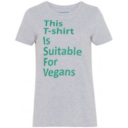 People Tree Vegan T-Shirt - Grey