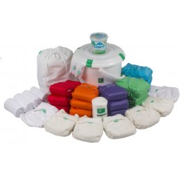 Tots Bots Birth to Potty Reusable Nappy Kit