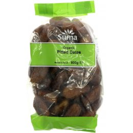 Suma Prepacks Pitted Organic Dates 500g