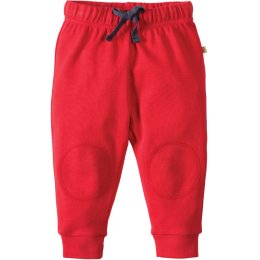 Frugi Tomato Red Kneepatch Crawlers