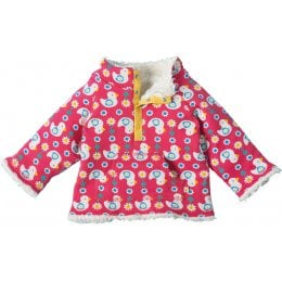 Frugi Little Snuggle Fleece - Ditsy Ducks