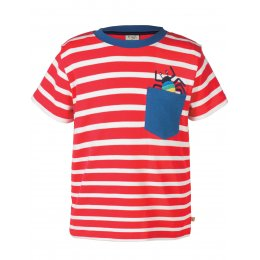 Frugi Pocket Creature T-Shirt - Spider