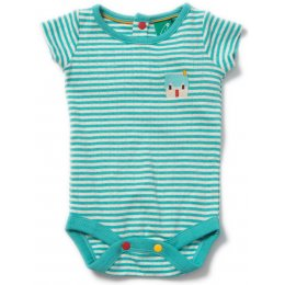 Sky Blue Pointelle Baby Body