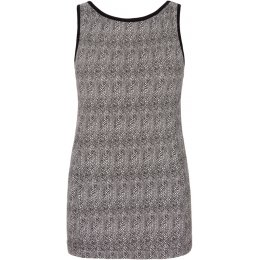 Asquith Bamboo & Organic Cotton Live Fast Boatneck Vest Top - Herringbone