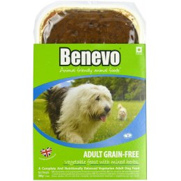 Benevo Grain Free Vegetable Dog Food - 395g