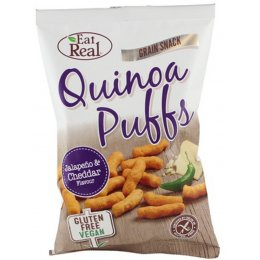 Eat Real Quinoa Puffs - Jalapeno & Cheddar - 113g