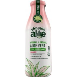 Simplee Aloe Health Supplement Cranberry 500ml