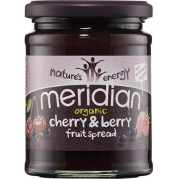 Meridian Organic Cherries And Berries Fruit Spread 284g