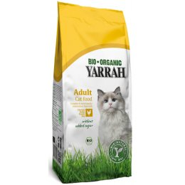 Yarrah Organic Dry Adult Cat Food With Chicken - 3kg