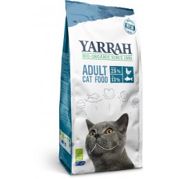 Yarrah Organic Dry Adult Cat Food With Fish - 800g