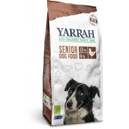 Yarrah Organic Senior Dog Food - Chicken & MSC Fish With Herbs 2kg