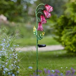 Solar Powered Foxglove Stake Light - 2 Pack