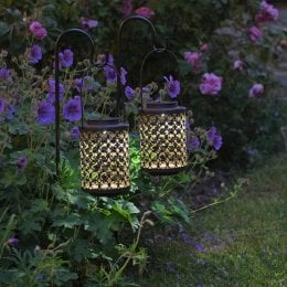 Solar Powered Riad Lanterns  2 Pack