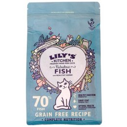Lilys Kitchen Fabulous Fish Complete Dry Cat Food - 800g