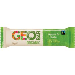 Fairtrade Apple & Kale Organic Geobar - 38g
