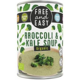 Free & Easy Organic Broccoli And Kale Soup - 400g