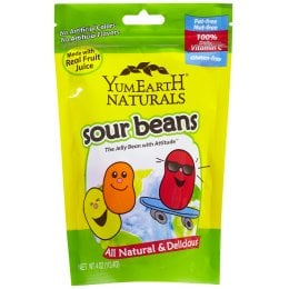 YumEarth Vegan Sour Jelly Beans - 113.4g