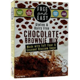 Free & Easy Chocolate Brownie Mix - 350g