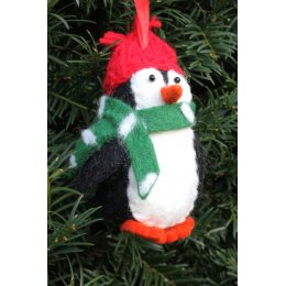 Hanging Christmas Tree Decoration - Penguin