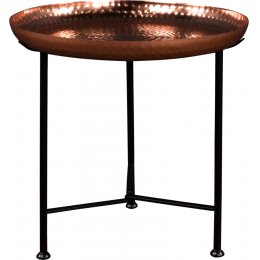 Fairtrade Moroccan Hammered Side Table